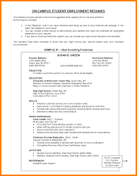 Objectives For Resume Examplesexamples Of On A