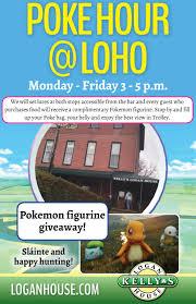 100 The Logan House Pokemon Happy Hour
