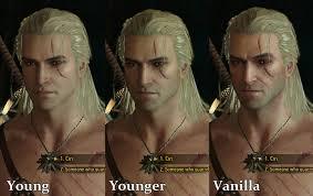 Young amusing Geralt