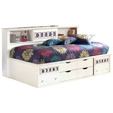 Value City Twin Headboards by White Twin Storage Bed With Bookcase Headboard Throughout