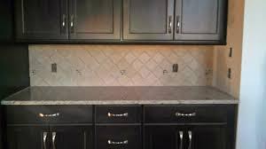 dark cabinets tile backsplash interior exterior doors
