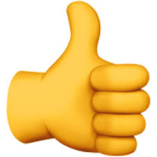 Thumbs Up Emoji U 1F44D