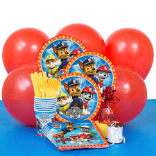 Michaels Wedding Supplies Canada by Paw Patrol Birthday Party Supply Kit For 8 Paw Patrol Party Supplies