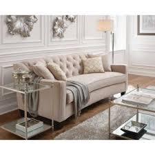 Home Decorators Collection Gordon Tufted Sofa by Home Decorators Collection Riemann Smoke Polyester Sofa 9419200200