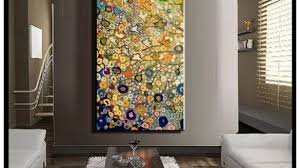 Exciting Huge Wall Art Together With Large Single Abstract Flower Cheap Vertical Oil Painting On Canvas Modern X