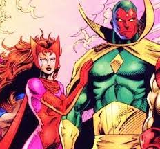The Vision With Scarlet Witch