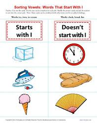 Words Starting With I