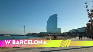 100 Barcelona W Hotel DIVE INTO THE CURRENT BARCELONA HOTEL YouTube