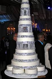 Lets Talk About Bling Baby Wedding CakesBling