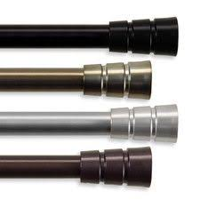 Umbra Cappa Curtain Rod And Hardware Set by Umbra Cappa 1 Inch Drapery Rod For Window 66 To 120 Inch Http