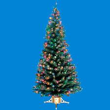 7 Fiber Optic Christmas Tree
