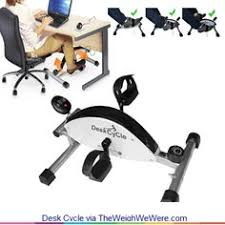 Pedal Exerciser Under Desk by Amazon Com Deskcycle Desk Exercise Bike Pedal Exerciser White