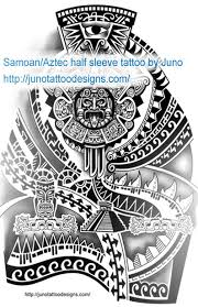 Samoan Tattooaztec Tattoosleeve Tattoo