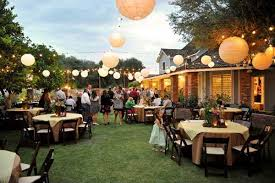 Simple Outdoor Wedding Reception Ideas Impressive Outside For Cute Shower Gift