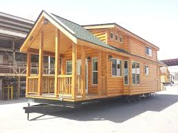 1 2 Log Siding on a RV park cabin available from Recreational Resort Cottages and