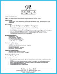 Banquet Server Resume Sample 17 Classy Design Collection Of