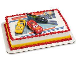 Cars 3 Ahead of the Curve Cake DecoSet Cake Cakes
