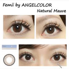 Femii Natural Mauve 1 Day 30pcs Contact Lenses Japanese
