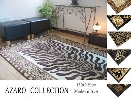 Persian Carpets Machine Weaving Carpet Rugs Home Iran Produced About 150cmx230cm High Quality Luxury Animal Print Leopard Pattern