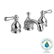 American Standard Faucets Home Depot by American Standard Hampton 8 In Widespread 2 Handle Low Arc