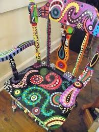 Banana Shaped Rocking Chairs by 25 Unique Painted Childs Chair Ideas On Pinterest Child Chair