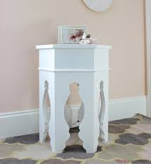 diy moroccan side table plans pottery barn knock off