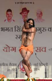22 Extremely Awkward Situations That Are Perfectly Captured By This One Baba Ramdev Pose