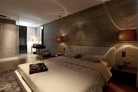 Awesome Dark Interiors Bringing Elegant Interior Style Modern Big Bedroom With Earthy Tones Of Colour