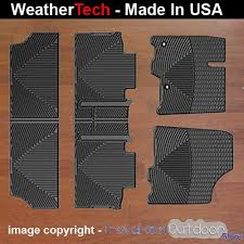 Laser Measured All Weather Floor Mats by All Weather Car Mats For Toyota Sienna 2013 2015 Black