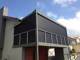 Roll Up Patio Shades Bamboo by Outdoor Roller Shades Brisbane Clanagnew Decoration