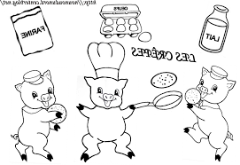 Coloriage 3 Petit Cochon Coloriage Les Trois Petit Cochons Free 70