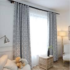 neue ankunft moderne einfache jacquard stil fenster blackout vorhang für wohnzimmer schlafzimmer grau rosa gelb 3 farben 1 stücke preis