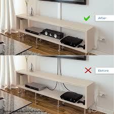deleycon universal kabelkanal leitungskanal innovativer klappmechanismus hochwertiges aluminium länge 50cm breite 6cm höhe 2cm weiß