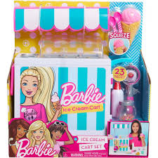 BarbieChelsea Ice Cream Cart Doll Playset