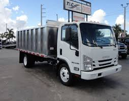 2018 New Isuzu NPR HD 14FT ALUMINUM LANDSCAPE DUMP TRUCK ADVANCED ...
