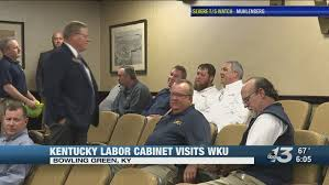 Kentucky Labor Cabinet Secretary by Deputy Secretary For Kentucky Labor Cabinet Visited Wku To Sign