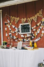 Rustic Barn Engagement Party