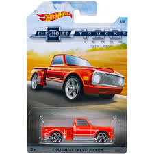 Hot Wheels Chevy Trucks 100th Anniversary Vehicle (Styles May Vary ...