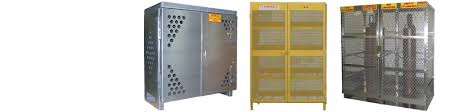 Flammable Cabinets Osha Regulations by Gas Cylinder Storage Cabinets Vertical U0026 Horizontal Osha Nfpa