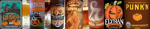 Imperial Pumpkin Ale Southern Tier by The Venerable Pumpkin Beer Returns Tap Trail