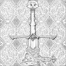Longclaw Illustration By John Howe For A Game Of Thrones Colouring Book