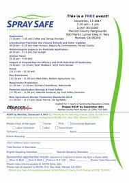 bureau am ag merced county farm bureau is hosting a spray safe event