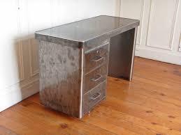 bureau industriel metal bureau industriel en metal style and steel jpg tables bureaux