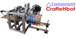 Lunavest Offers CrafteHbot Full Color 3D Printer DIY Kit You Attach 2D