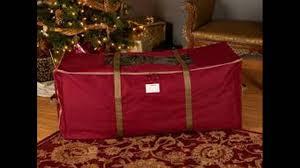 Upright Christmas Tree Storage Bag by Christmas Tree Bag Youtube