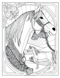 Realistic Horse Coloring Pages Wonderful World Of Horses Color And Story Amazon Printable Arabian