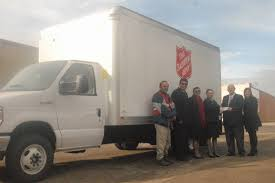 100 Salvation Army Truck Mayer Foundation Funds New Truck Plainview Daily Herald