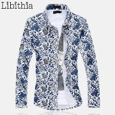 popular men u0026 39 s patterned dress shirts buy cheap men u0026 39 s