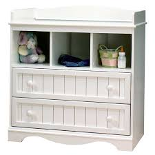 Baby Changer Dresser Combo by South Shore Country Baby Furniture Pure White Changing Table