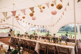 Rustic Wedding Marquee